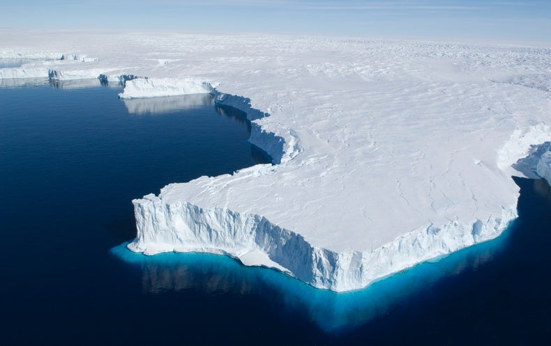 Antarcticas Ice Shelves Have Lost Millions of Metric Tons of Ice - Scientific American