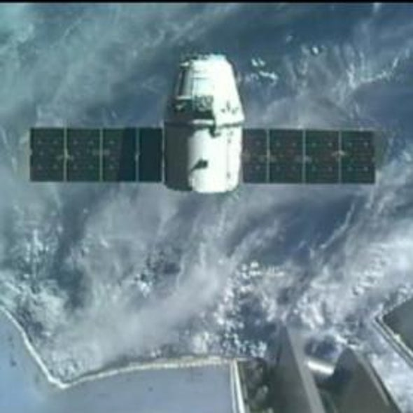 SpaceX Dragon Capsule Arrives at Space Station with Precious Cargo