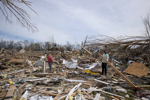 Migrating Tornadoes Bring Heightened Danger to the Southeast