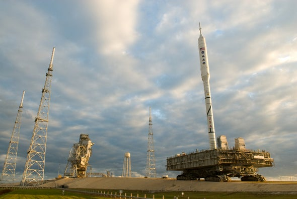 NASA's new rocket ready for test launch despite iffy future