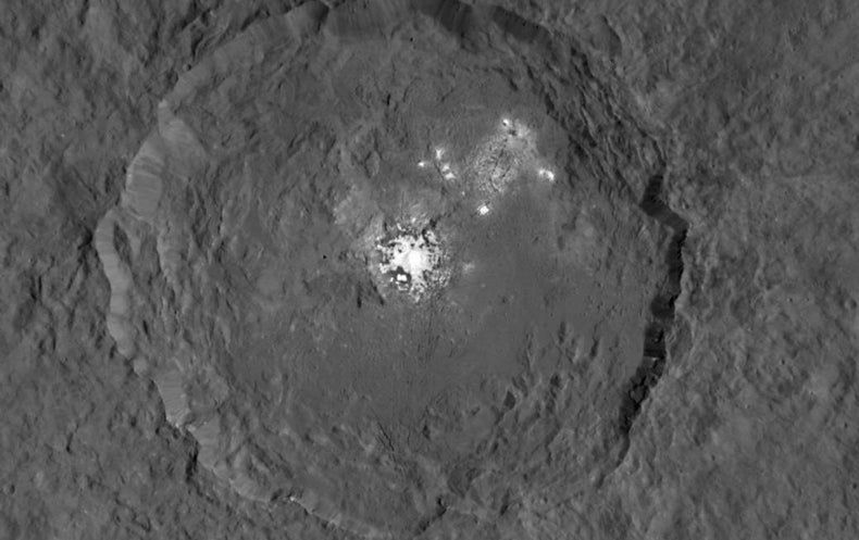 Scientists Get to the Bottom of the Bright Spots on Ceres