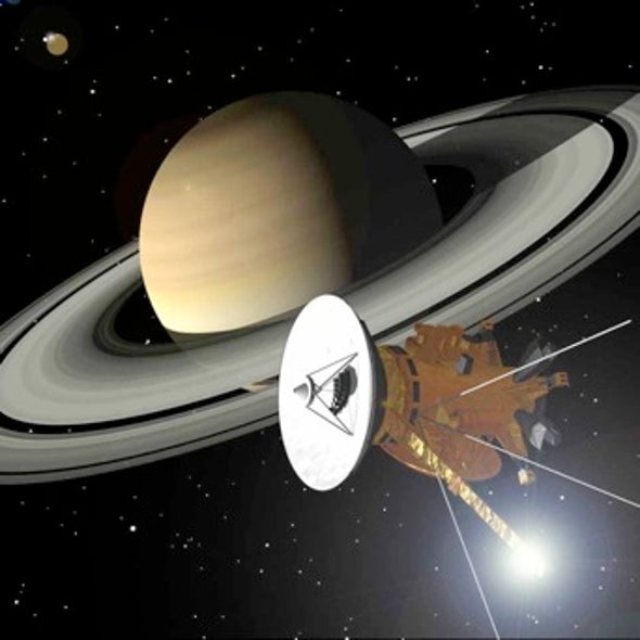 Where's Saturn? Cassini Spacecraft Helping Provide More Accurate Planetary Coordinates