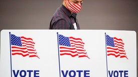 How to Avoid COVID while Voting