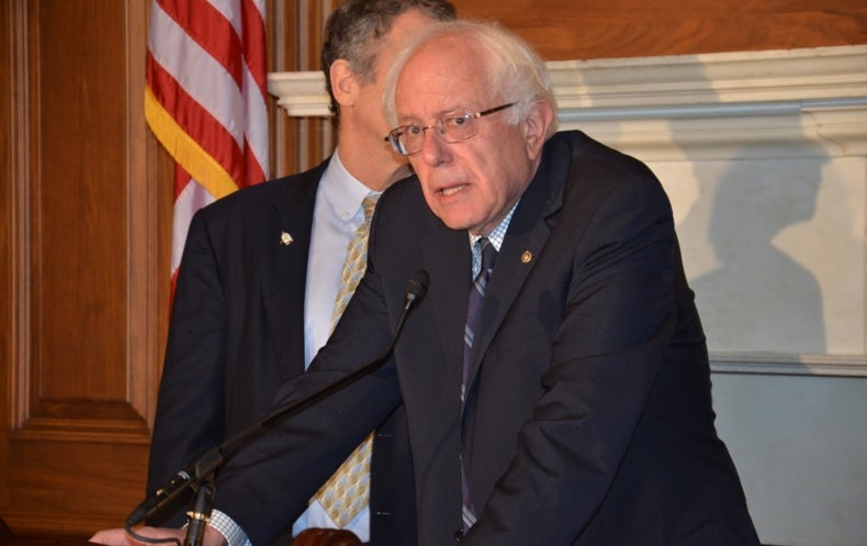 Sanders Says Climate Change Is a Central Election Issue
