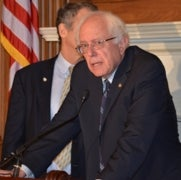 Bernie Sanders Says Climate Change Is a Central Election Issue