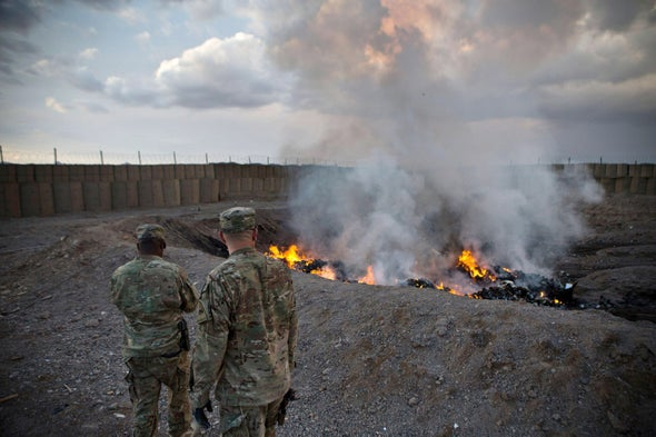 U.S. Forces Are Leaving a Toxic Environmental Legacy in Afghanistan