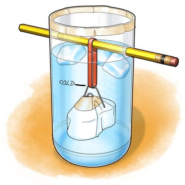 伸展它! 温度如何影响橡皮筋?