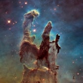 THE EAGLE NEBULA—PILLARS OF CREATION
