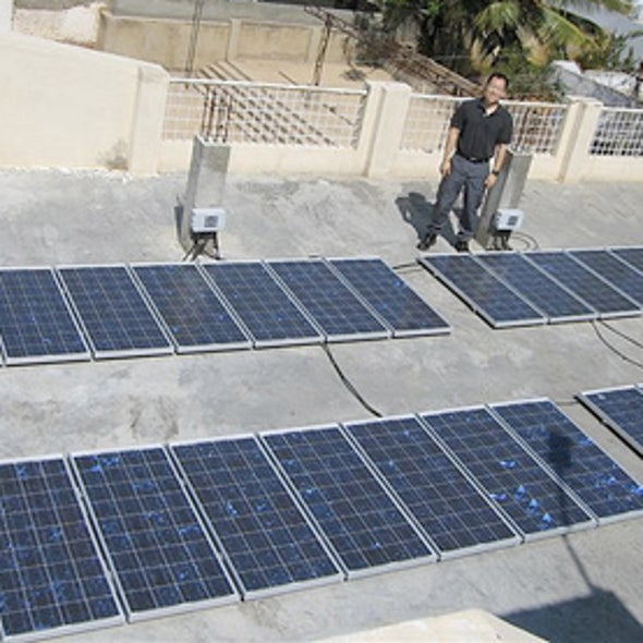 The Missing Link in Wider Adoption of Solar Power? Electricians