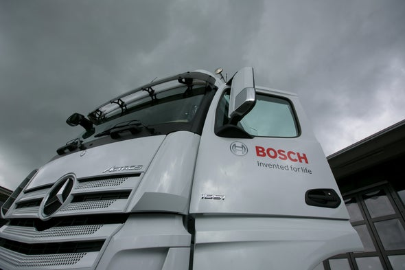 Driverless Big Rigs Nearly Road Ready--That's a Big 10–4