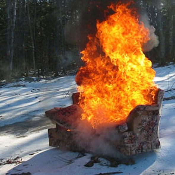 Banned Flame Retardants Finally Declining in Women