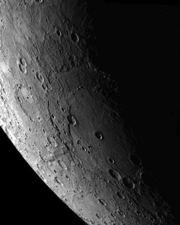 Mercury's monster crater