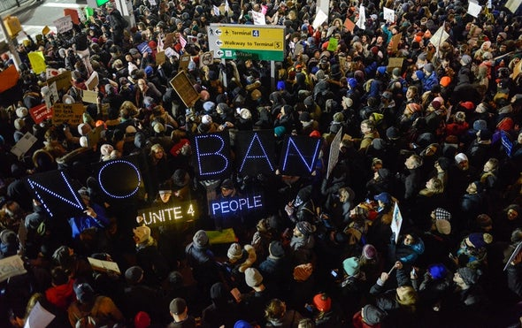 "Top Academics Lash Out at Trump's ""Un-American"" Immigration Order"