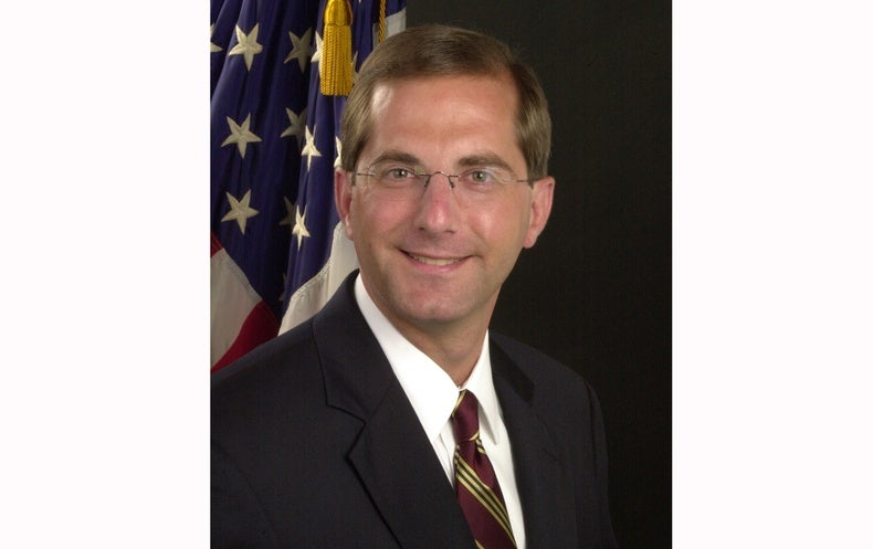 What You Need to Know About Alex Azar, Trump's HHS Nominee