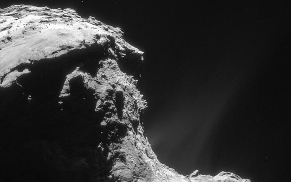 Watch the Action as Rosetta Crashes into a Comet