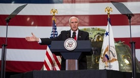 "Pence Calls for ""New Era of Space Exploration"" at NASA"