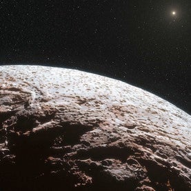 Rare Apparition of Dwarf Planet Makemake Reveals a Largely Airless World