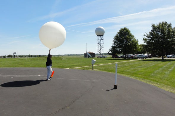 What Old-Fashioned Weather Balloons Foretell about Irma's Track