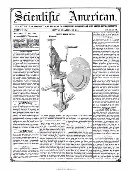 April 22, 1854