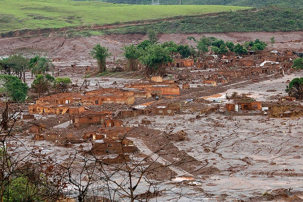 Brazil Mine Disaster Floods Area With Toxic Substances