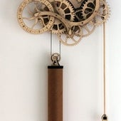 ENGINEERING: MECHANICAL WOODEN CLOCK KIT