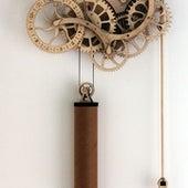 ENGINEERING: MECHANICAL WOODEN CLOCK KIT