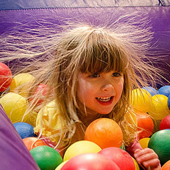 Vitamin E and Other Antioxidants Dispel Static Electricity