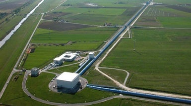 European Detector Spots Its First Gravitational Wave