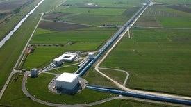 European Detector Spots Its First Gravitational Wave