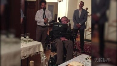 Hawking at the Seder