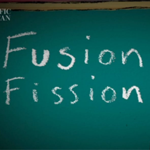 Instant Egghead: What's the Difference Between Fission and Fusion?