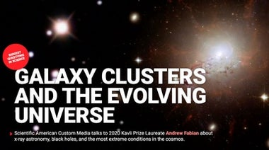 Interactive: Galaxy Clusters and the Evolving Universe