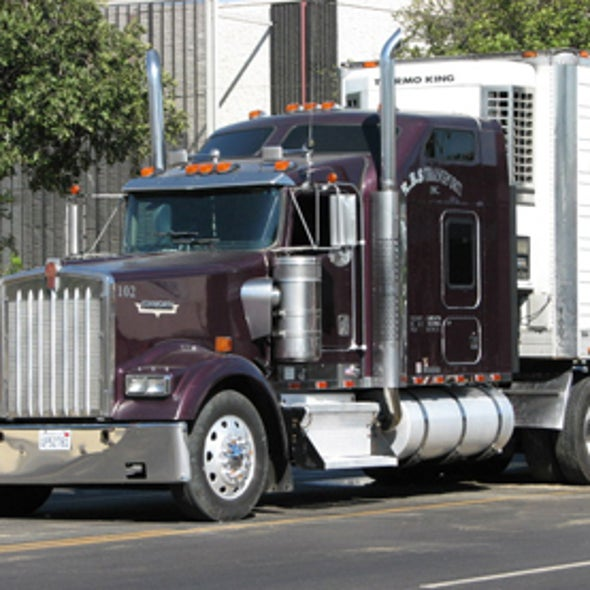 Plastic Fairings Could Cut Truck Fuel Use