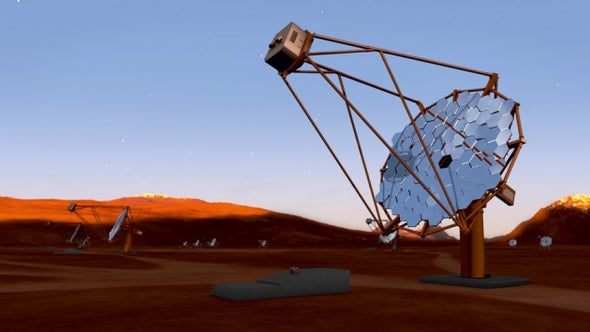 Giant Gamma-Ray Detector Searches for 2 Home Sites