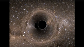 Black-Hole Mergers Cast a Kaleidoscope of Eyebrow-Shaped Shadows [Video]