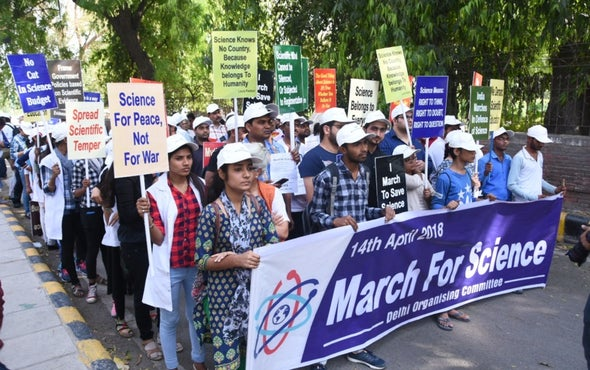 India Joins the Worldwide March for Science