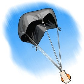 Skydiving science does the size of a parachute matter for Made design