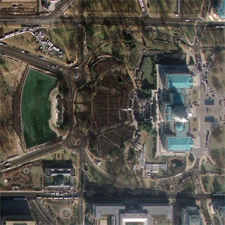 Above It All: A Satellite's-Eye View of Pres. Obama's Inauguration [Slide Show]