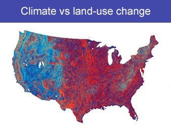 Suburbs and Farms Team with Global Warming to Threaten Wild Animals and Plants