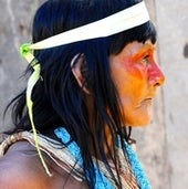 Decorated Huaorani Woman