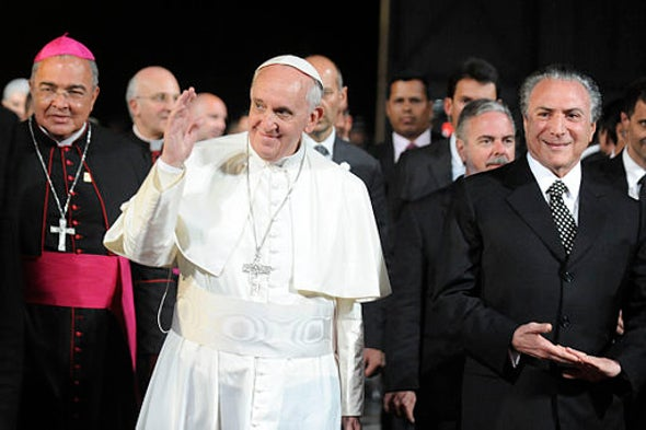 Pope Francis Pleas for the Environment