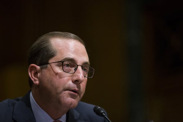 Nominee to Head HHS Vows to Tackle High Drug Costs