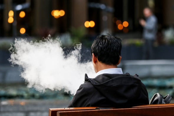 Smoking or Vaping May Increase the Risk of a Severe Coronavirus Infection