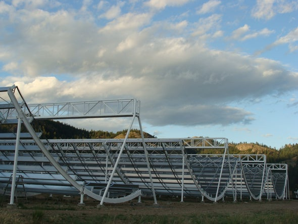 Bevy of Mysterious Fast Radio Bursts Spotted by Canadian Telescope