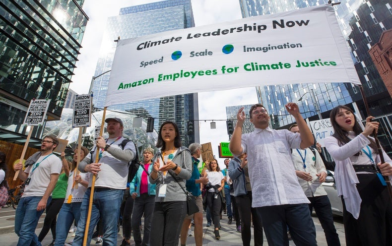 Amazon Workers Win Climate Dispute, But It Is