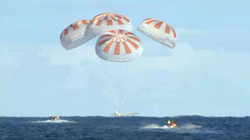 SpaceX Crew Dragon Splashes Down after Historic Test Flight