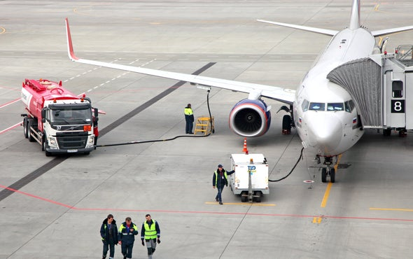 Search for a Cleaner Jet Fuel Leads to Sewage Plants