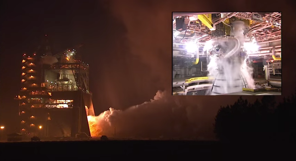 Rocket Fuel: Firing the Space Launch System's Engines [Video]
