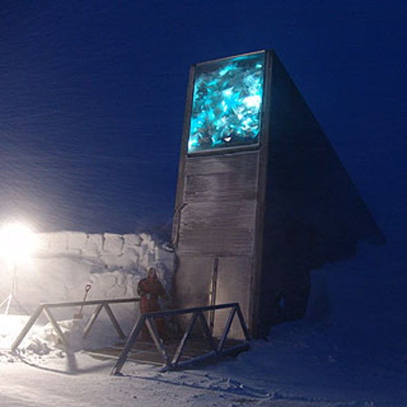Seeds of Future Agriculture Enter Doomsday Deep Freeze