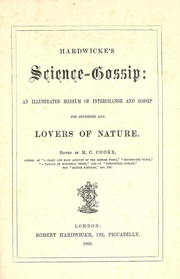 Science Gossip [Zooniverse]